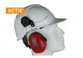 Actie M-Safe Veiligheidshelm + Oorkappen