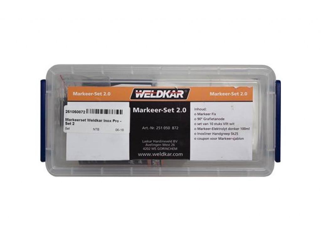 Weldkar Markeer-Set