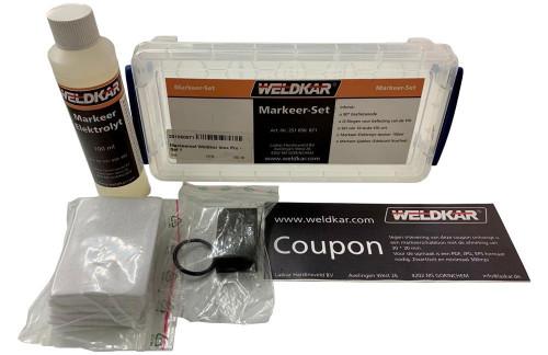 Markeerset Weldkar Inox Pro