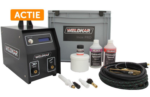 RVS Reiniging set Weldkar Inox Pro