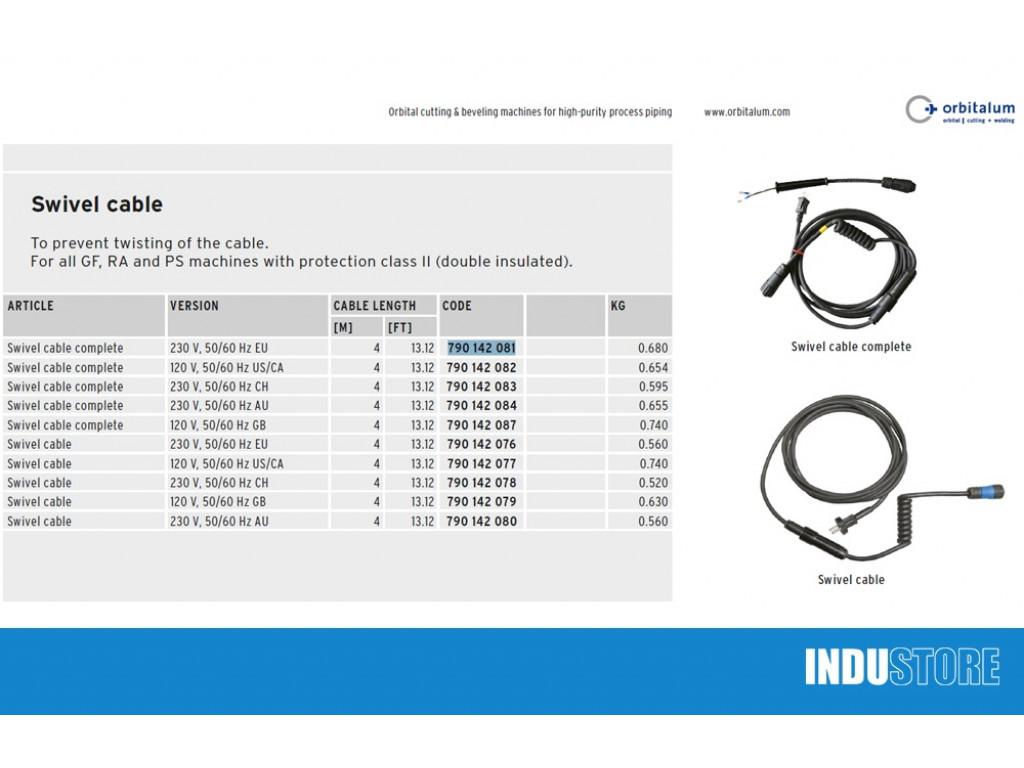 Orbitalum kabel 790142081