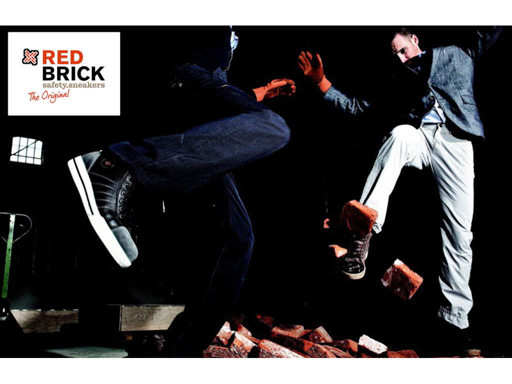werkschoenen redbrick_granite safety sneakers s3