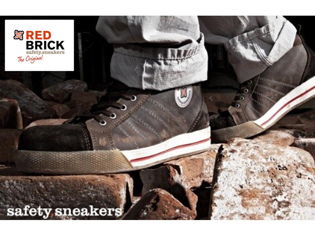 werkschoenen redbrick smaragd safety sneakers s3