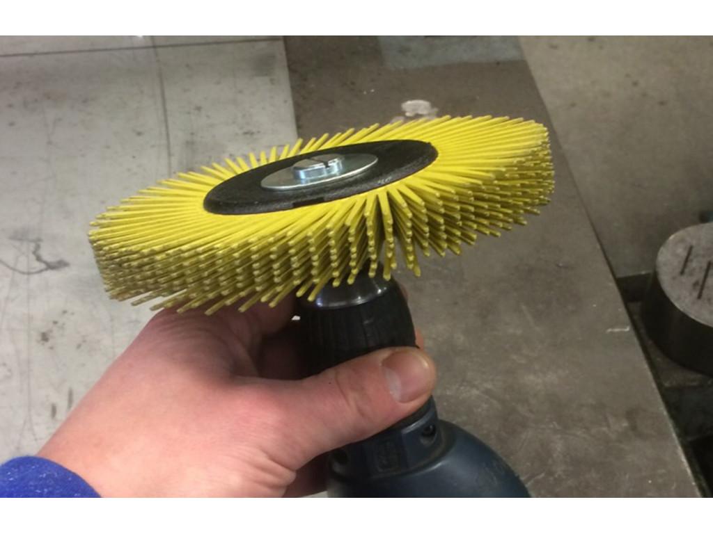 Scotch Brite Bristle Radial borstel boormachine