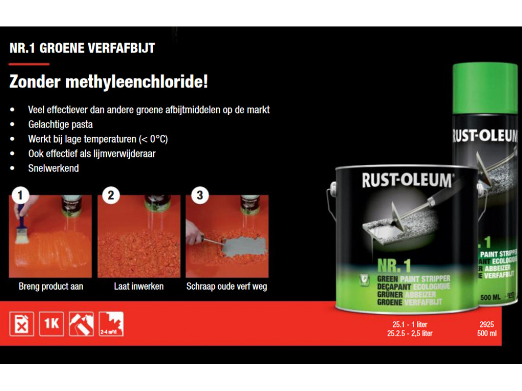 Rust Oleum Verfafbijt.Verfafbijt Rust Oleum 2925 Verfafbijtmiddel Industore